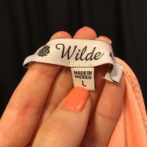 Wilde Dresses - Peach Skater Dress
